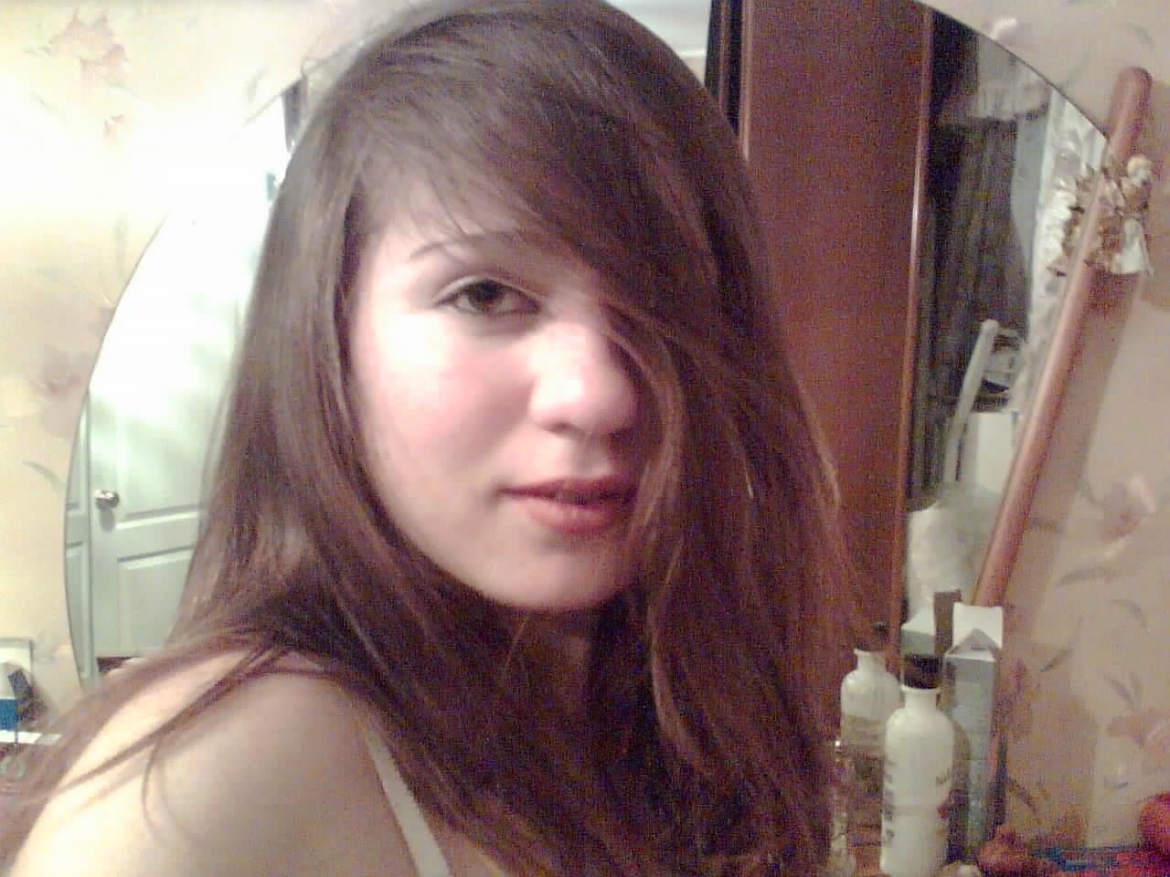 Ретро красивая девушка селка